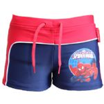Spiderman Swimming Trunks Red & Blue